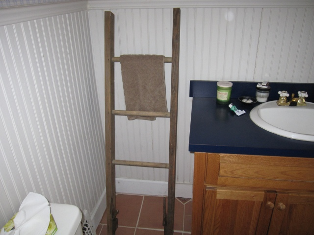 old ladder - new tricks